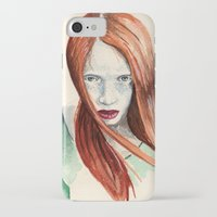 ginger iPhone & iPod Cases featuring Ginger by Roxie Emm