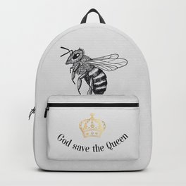 God save the Queen Backpack