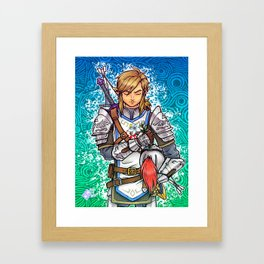 Her Appointed Knight Framed Art Print