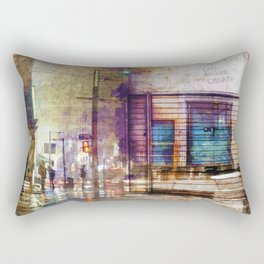 Live, Work, Create Rectangular Pillow