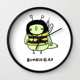 Bumblebird Wall Clock