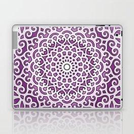 16 Fold Mandala in Purple Laptop & iPad Skin