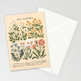 Wild Flowers ~ vol4. ~ light  Stationery Cards