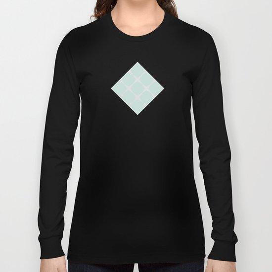 Polka Dots & Mint Tiles Long Sleeve T-shirt