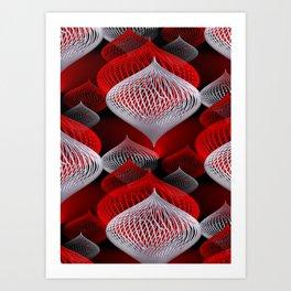 onion pattern -1- Art Print