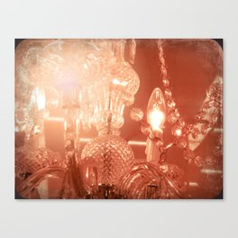cinnamon chandelier Canvas Print