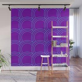 Japanese Cyberpunk Aesthetic Pattern Wall Mural