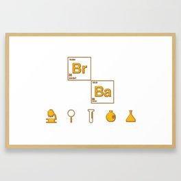 bad chemical Framed Art Print
