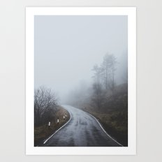 Scottish Borders Art Print
