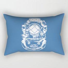 Scuba diver Rectangular Pillow