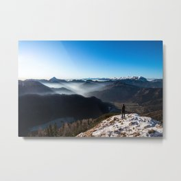 Looking over new horizons Metal Print