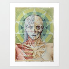Sacred Geometry Art Print