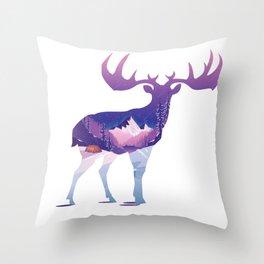 Hello Winter Time Throw Pillow