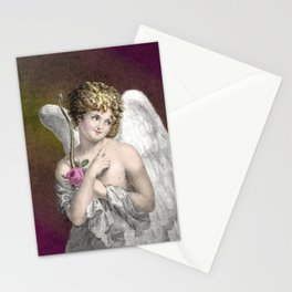 Sweet Vintage Cupid Stationery Cards