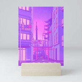 Asakusa Lights Mini Art Print