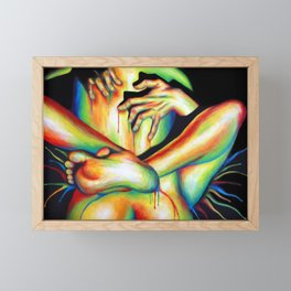 Passionate Love Framed Mini Art Print