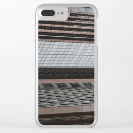 Downtown World Clear iPhone Case