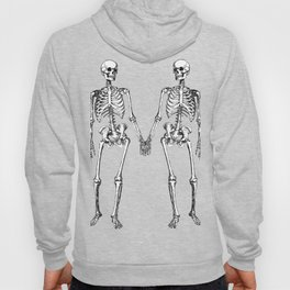 Two skeletons Hoody