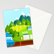 Wind Energy Stationery Cards