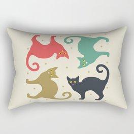 Cats and Cream Rectangular Pillow