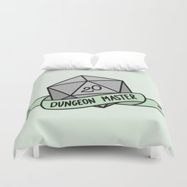 Dungeon Master D20 Duvet Cover