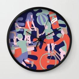 summering Wall Clock
