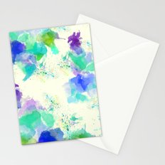 Printed Silk Ocean Spray Stationery Cards