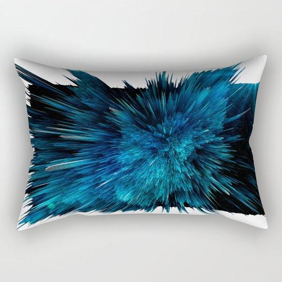 Blue art Rectangular Pillow