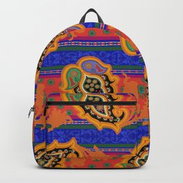 monaco paisley Backpack