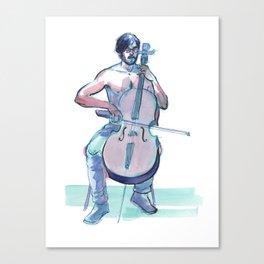 JOSHUA MCCLAIN, Semi-Nude Male by Frank-Joseph Canvas Print