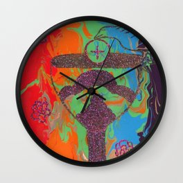 The Ace of Cups Wall Clock