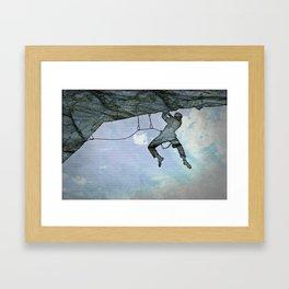 Climb On Framed Art Print