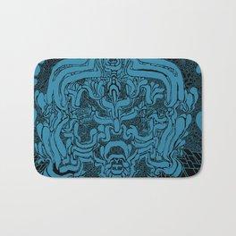 Hyperborean Lock(BLUE) Bath Mat
