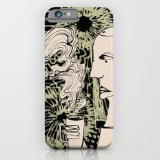 Cafe Drawing Slim Case iPhone 6s