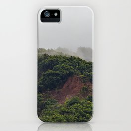 Maui Mountain Tops iPhone Case