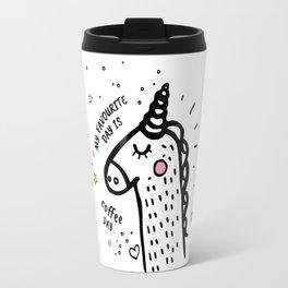 2 Very tasty coffee illustration Travel Mug