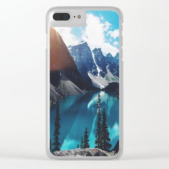 Lake Moraine Clear iPhone Case