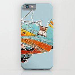 Boeing P-26A Peashooter illustration iPhone Case