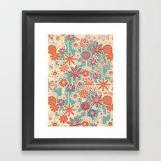 Motivo floral 2 Framed Art Print