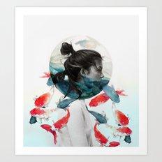 Planetary Aquarium  Art Print