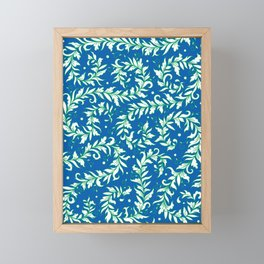Lacy Leaves Framed Mini Art Print