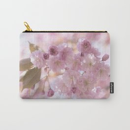 Pink Spring Cherry Blossom Carry-All Pouch
