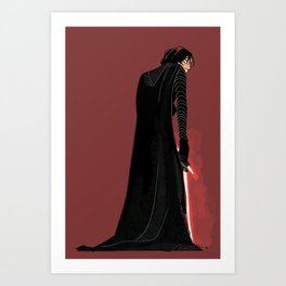 Dark Space Prince Art Print