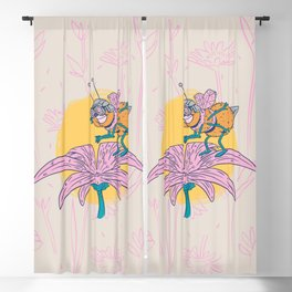 Bee Awesome Blackout Curtain