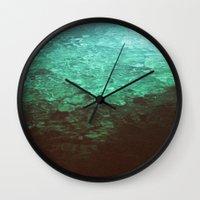 pool Wall Clocks featuring Pool by Dulcinee