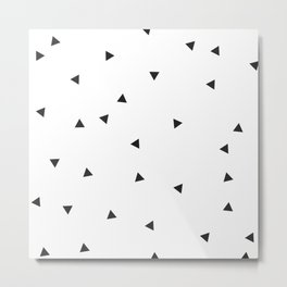 Mini triangles Metal Print