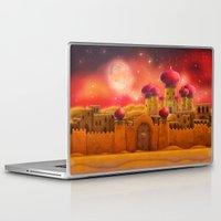 aladdin Laptop & iPad Skins featuring Aladdin castle by Tatyana Adzhaliyska