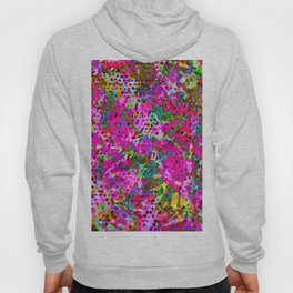 Floral Abstract Stained Glass G548 Hoody