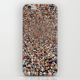 """The Work 3000 Famous and Infamous Faces Collage iPhone Skin"