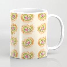Paisley Watercolor in Tea (tan brown) Mug